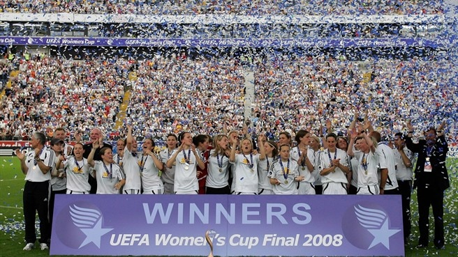 Women's Champions League launches in 2009