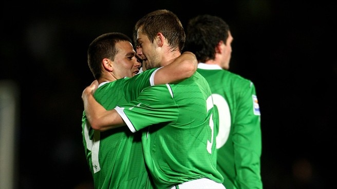George McCartney & David Healy (Republic of Ireland)
