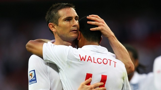 Frank Lampard & Theo Walcott (The Football Association)