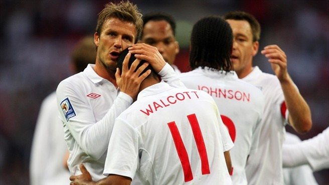 David Beckham & Theo Walcott (The Football Association)
