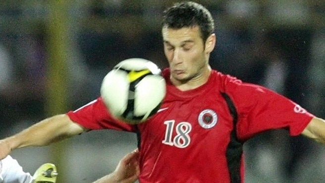 Salihi strike secures victory for Albania