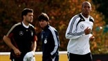 Jerome Boateng, Joachim Loew & Michael Ballack (Germany)