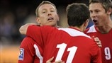Craig Bellamy, Simon Church & David Vaughan (Wales)