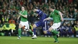 Richard Dunne, Sean St Ledger (Ireland) & André-Pierre Gignac (France)