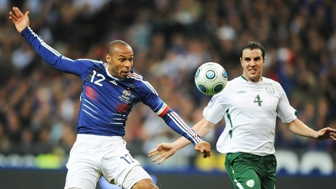 Thierry Henry (France) & John O'Shea (Republic of Ireland)