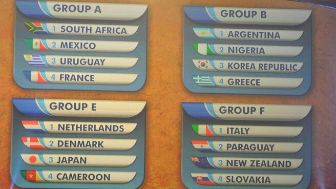 Paraguay first up for holders Italy