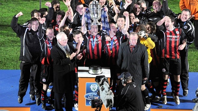 Bohemians complete double with FAI Cup win