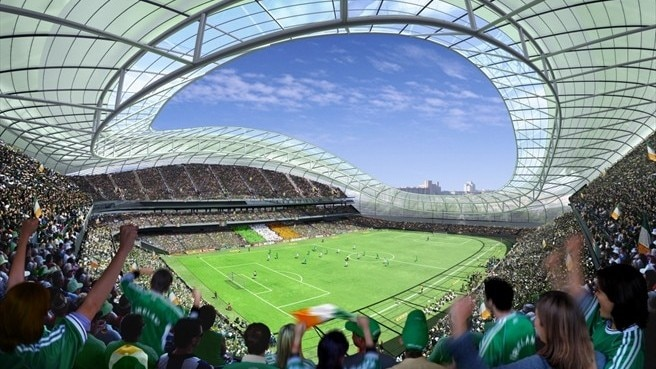 Irish first looms for Lansdowne Road