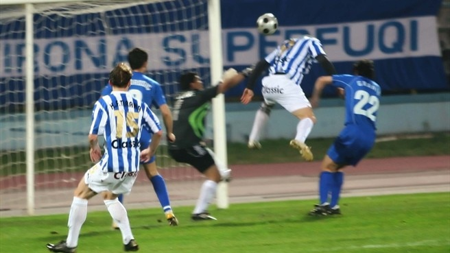 Tirana take derby honours in Albania