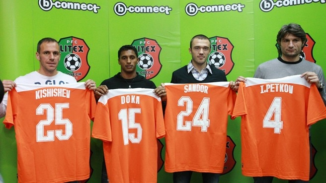 Litex bring back Kishishev and Petkov