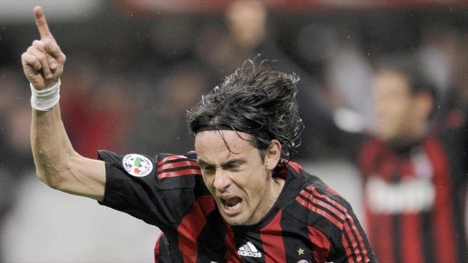 Inzaghi leads Milan upwards but Viola fall