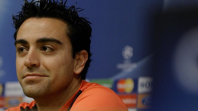 Xavi willing to play waiting game