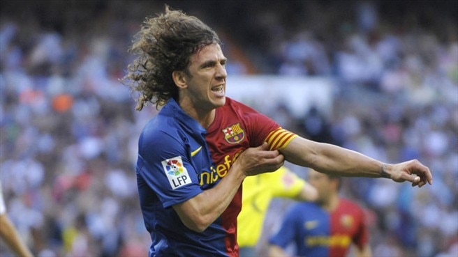 Puyol 'thrilled' with new Barça deal
