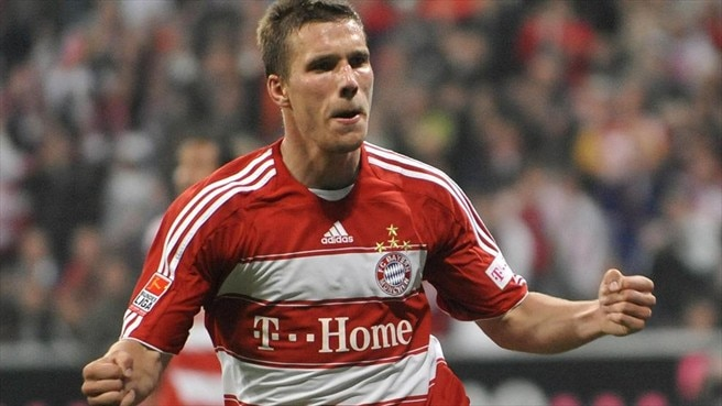 Arsenal's Podolski ready for Bayern's 'big players'