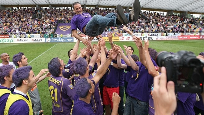 Maribor toast title success despite defeat