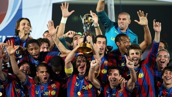 Dominant Barça claim world crown