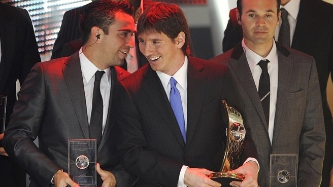 Messi scoops FIFA World Player award