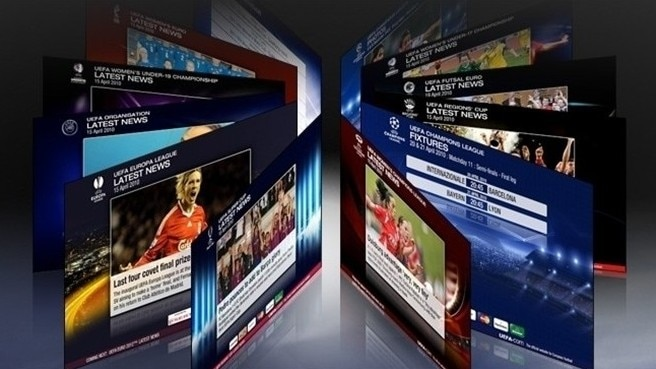 UEFA.com launches new-look screensaver