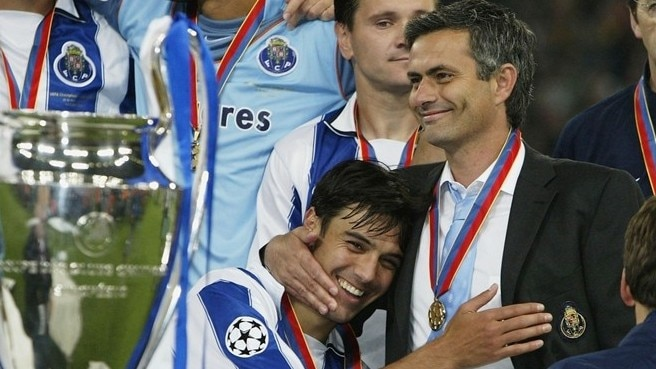 Mourinho recalls Porto's victory march
