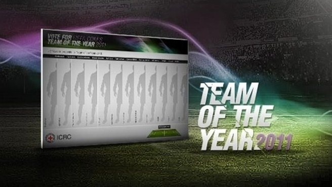 Vote for UEFA.com users' Team of the Year