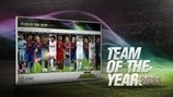UEFA.com users' Team of the Year 2011 revealed