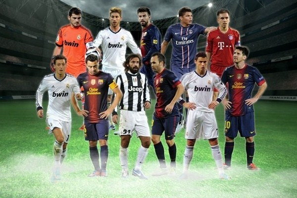 UEFA.com users' Team of the Year 2012