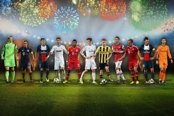 From Manuel Neuer in goal to Cristiano Ronaldo up front: the UEFA.com users' Team of the Year 2013