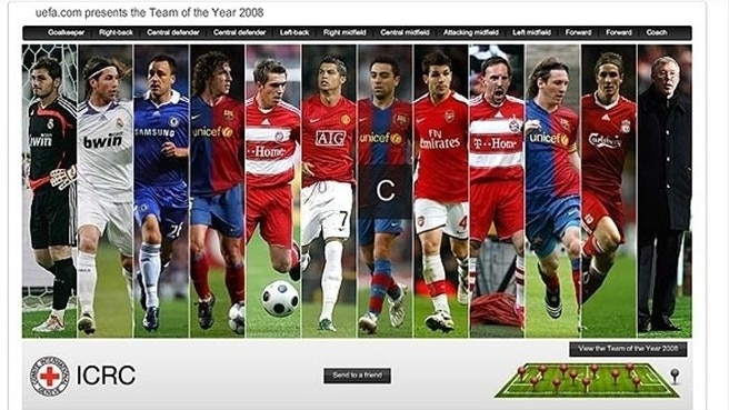 Team of the Year 2008