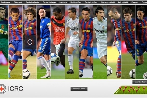 More than 4m votes were cast to produce the 2009 UEFA.com users' Team of the Year