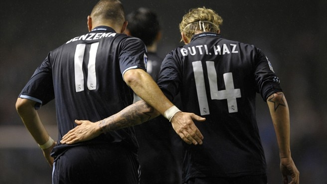 Guti and Rooney's magic moments