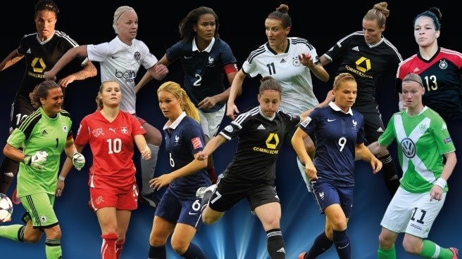 UEFA Best Women's Player in Europe shortlist
