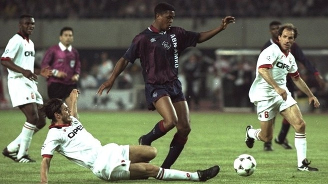 Kluivert's magical moment