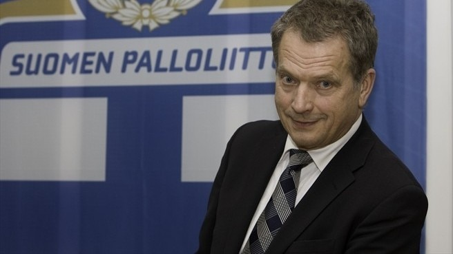 Finnish FA president becomes Finland's President