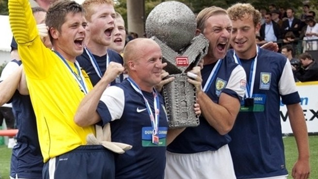 Scotland win Homeless World Cup in Paris