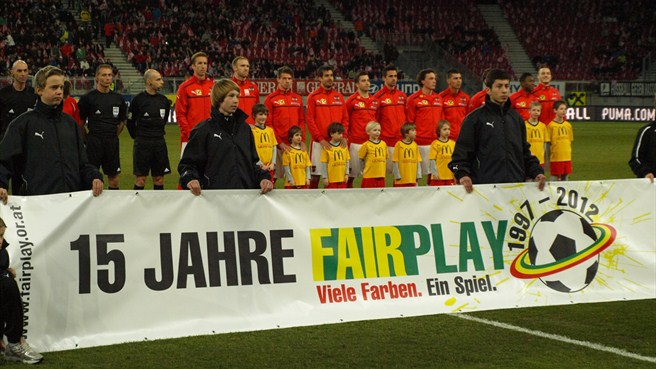 Austria's support for anti-racism campaign