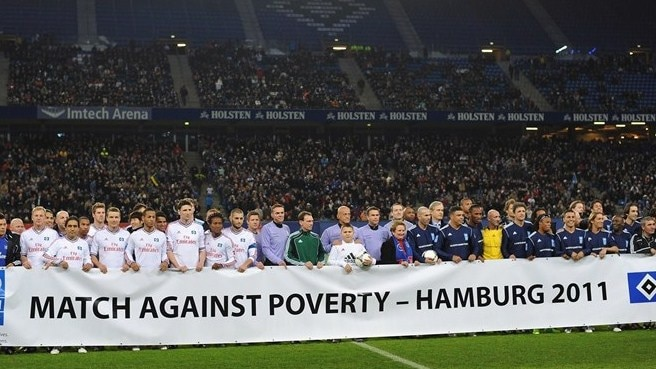 Clubs invited to host Match Against Poverty