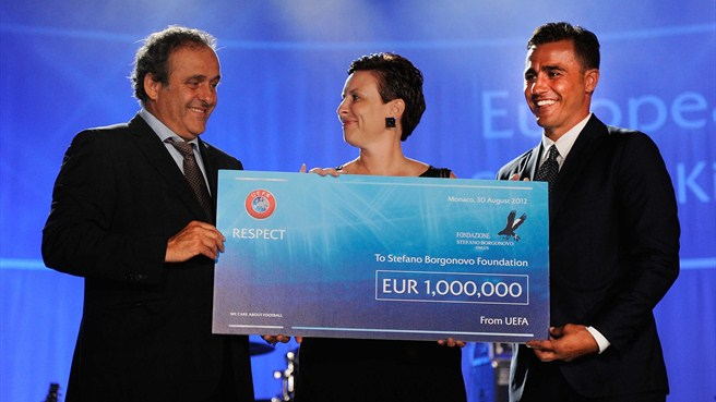 Monaco award to Stefano Borgonovo Foundation