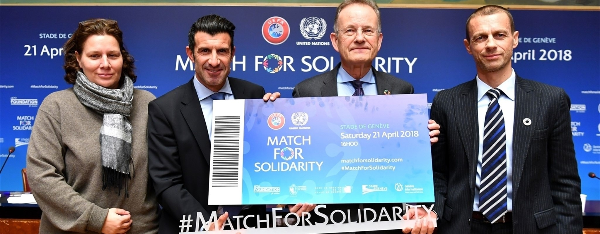 Tickets go on sale for Match For Solidarity in Geneva