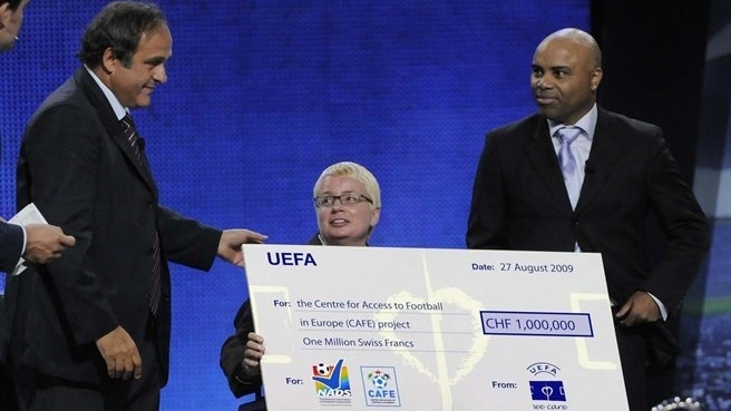 CAFE receives UEFA Monaco Charity Award