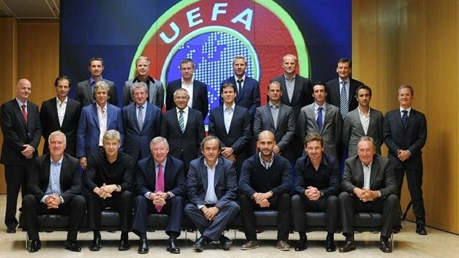 Midweek meeting for Europe's elite club coaches