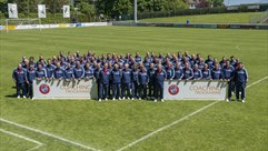 Student coaches learn at UEFA