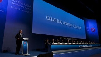UEFA 'moving with the tide of history'
