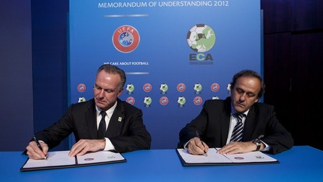 Rummenigge welcomes UEFA–ECA agreement