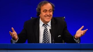 Michel Platini (XXXVII Ordinary UEFA Congress in London)