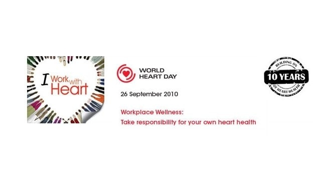 World Heart Day promotes workplace wellness