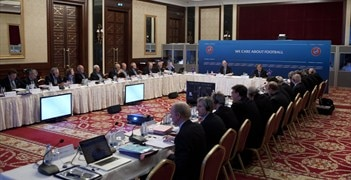 UEFA's Executive Committee meets for the last time this year in Lausanne on 6 December