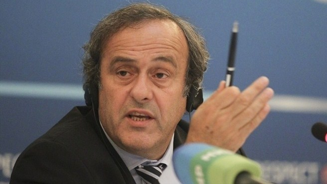 Michel Platini (UEFA Executive Committee, St Petersburg)