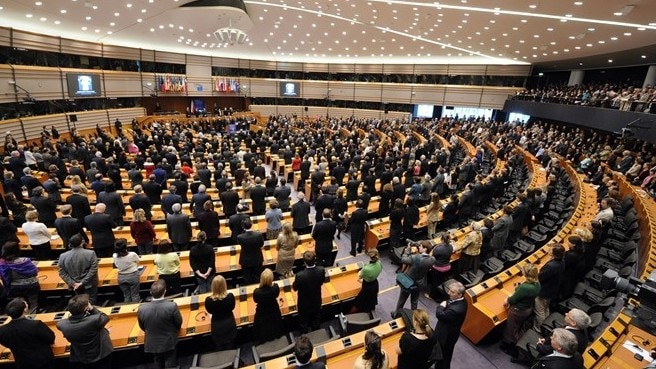 European Parliament in support of UEFA's policies