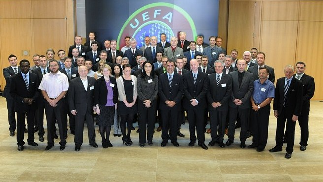 First-ever Integrity Officers workshop at UEFA
