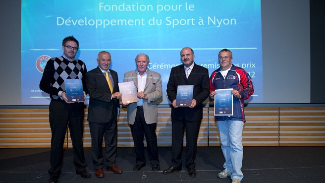 UEFA helps Nyon sport